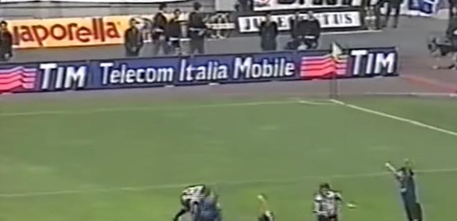 ronaldo iuliano 1998 fallo spazioj