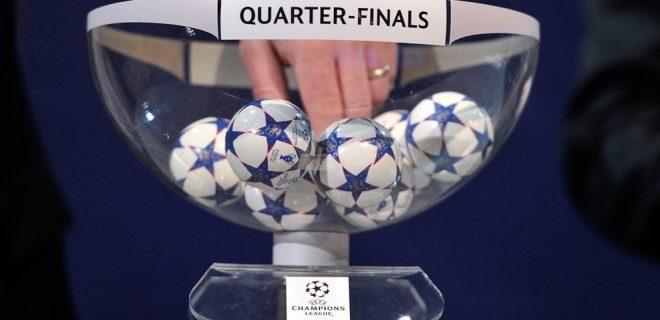 Sorteggio Quarti Champions League