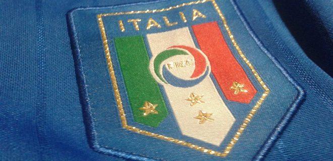 stemma figc nazionale italiana italia 2017 spazioj