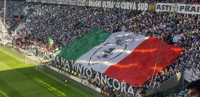 tricolore festa scudetto 2017 stadium torino